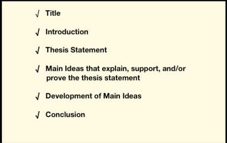 Writing effective thesis statements pdf
